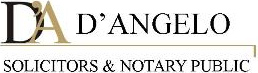 The D'Angelo Solicitors logo